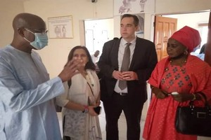 Coumba Dadda expose à la délégation américaine le dossier de Cheikh Ridha