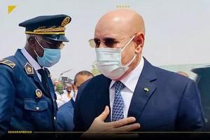 Le président Ghazouani depuis Rosso : « la sécurité dans le pays est préservée et elle n'est pas négociable »