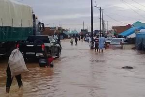 Ministère de l'hydraulique et de l'assainissement : 41 citernes pour évacuer les eaux de pluie