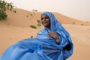 Quatre artistes de la Mauritanie, de l'Algérie, du Maroc et du Sahara occitental réunies dans une création musicale
