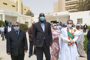 Nouadhibou-Zone Franche : Arrivée de la délégation ministérielle (photos)