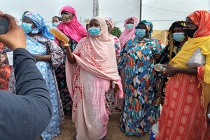 Rosso : Après la manif des femmes, une mission de la SNDE débarque pour diagnostiquer le problème de l'eau
