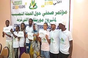 Présidentielle mauritanienne : les enfants interpellent les six candidats [PhotoReportage]