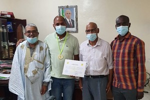 Le Directeur du Marathon International de Nouadhibou à Nouakchott