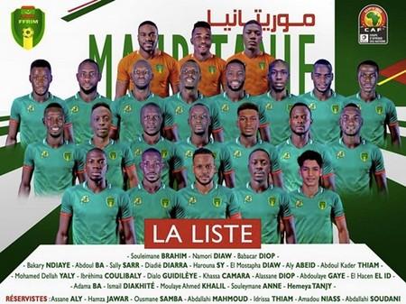 Les 23 Mourabitounes pour la CAN 2019