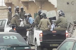 Répression de la marche pacifique d'IRA-Mauritanie [PhotoReportage]