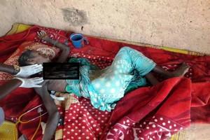 Les premières images des hospitalisés pour cause de malnutrition dans l'Est de la Mauritanie
