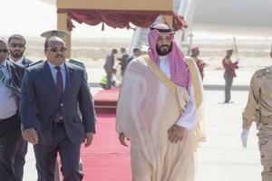 Mauritanie : brève visite du prince héritier saoudien