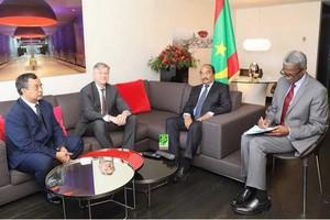 Bruxelles : Le Président de la République reçoit le Secrétaire Général adjoint de l'ONU chargé des opérations de maintien de paix