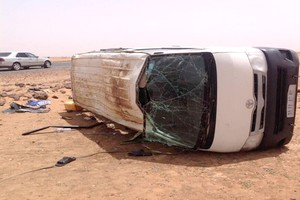 Accident sur la route d'Akjoujt : 3 morts