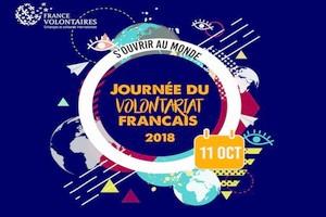 11 octobre 2018 : une Journée du Volontariat Français pour « S'ouvrir au monde » (Communiqué)