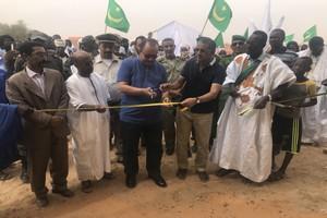 Assaba: Le Directeur Général de TADAMOUN inaugure deux écoles complètes et trois barrages dans des localités relevant de la moughataa de Barkéol [PhotoReportage]