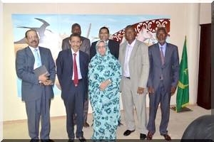 La ministre de la Culture et de l'Artisanat reçoit l'Association des Ecrivains Mauritaniens d'Expression Française