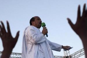 Mauritanie: un président en campagne, mais trop près de ses sous