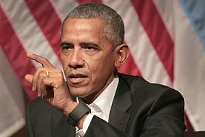 Obama s'en prend aux hommes politiques