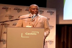 Communiqué de presse : Biram Dah ABEID invité d'honneur du 6è Congrès Panafricain de Munich [PhotoReportage]
