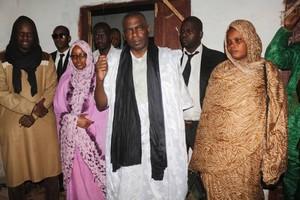 Biram en précampagne à Mederdra, N'Diago et Keur Macène
