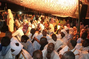 Biram Dah Abeïd poursuit sa troisième journée de précampagne