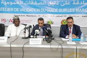 Mauritanie/CEDEAO : Rencontre à Nouakchott sur les critères Qualité dans les codes des marchés publics