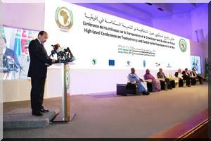 Conférence de haut niveau sur la transparence et le développement durable en Afrique : retour en IMAGES sur la première journée [Photo Reportage]