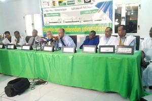 Conférence de presse du front anti référendum : «Avec ou sans autorisation de l'administration, nous allons poursuivre nos marches, vaille que vaille, contre le référendum anti-constitutionnel du pouvoir», dixit Jemil Mansour
