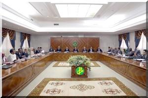 Communiqué du Conseil des Ministres du Lundi 29 Août 2016