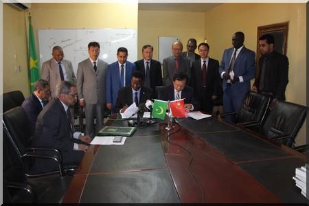 Accords environnementaux entre la Mauritanie et la Chine : vers l'ouverture d'un Bureau Régional de l'Académie des Sciences de Chine en Mauritanie. (Photo-reportage)