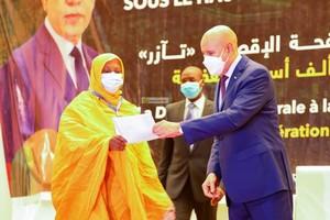 Le Président de la République supervise le lancement de l'assurance maladie pour 100 000 ménages pauvres