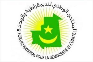 Forum National pour la Démocrate et l'Unité : Déclaration