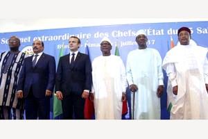 Sans argent, le G5 Sahel continue de tourner à vide
