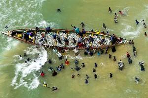 Greenpeace : la flotte chinoise menace d'extinction la richesse halieutique de la Mauritanie