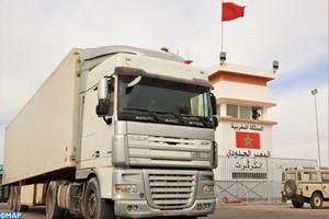 Enquête sur l'axe routier frontalier de Guergarate entre le Maroc et la Mauritanie