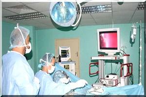 Opération réussie d'extraction d'hypophyse à l'hôpital Cheikh Zayed à Nouakchott