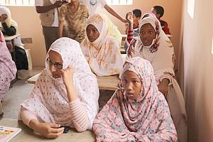 Bénichab: ouverture de classe pour apprendre le français et l'informatique [Vidéo & PhotoReportage]