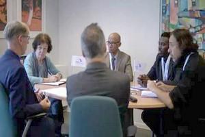 Une délégation d'IRA Mauritanie Belgique reçue ce 26 septembre au SPF Affaires Etrangères à Bruxelles