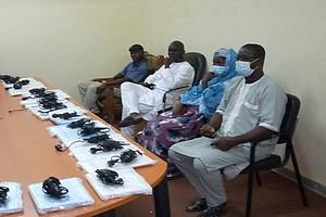 Un don de 21 ordinateurs portables à la commune de Boghé