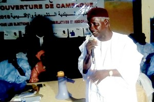 Mauritanie : L'opposant Sarr déclare la guerre aux système et dirigeants