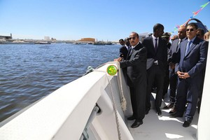 Nouadhibou - Pêches : Inauguration d'une pirogue 2G