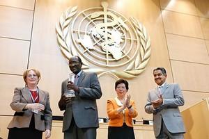 Mauritanie - Santé : le lauréat du Prix de la Fondation des EAU accueilli triomphalement