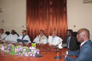 Réunion du Ministre de l'intérieur avec les présidents des conseils régionaux