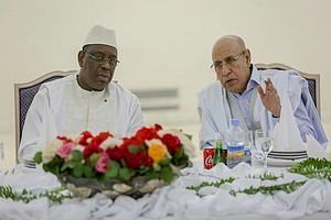 Concertations entre les présidents mauritanien et sénégalais autour de la question du covid-19