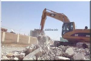 Le gouvernement procède à la démolition du second lot des écoles publiques vendues