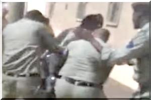 Un groupe d agents de la s curit charge sans civilit un for Changer un groupe de securite sans vidanger