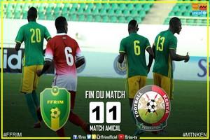 Match amical à Agadir au Maroc : la Mauritanie et le Kenya se neutralisent 1 but partout