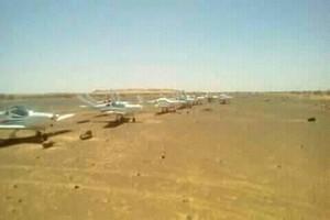 20 avions de plaisance viennent d'atterrir à Rachid