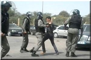 Nouakchott: La police disperse par la force la marche des étudiants