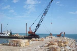 Mauritanie : l'Etat sécurise le domaine dévolu au port de N'diago, actuellement en fin de construction