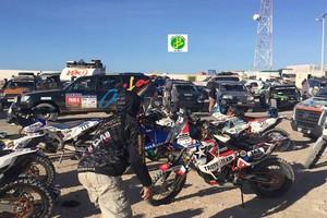 Les concurrents du Rally Africa Race font leur entrée en territoire mauritanien