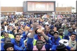 Tensions à Zouerate, l'accord suspendant la grève encore non effectif