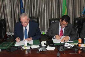 La Mauritanie et l'UE signent deux conventions de financement d'un montant global de 47,6 millions d'Euros